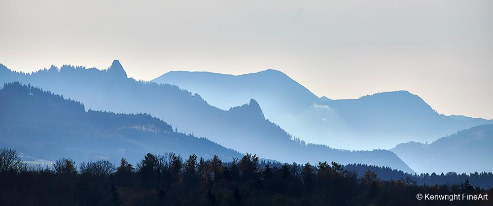 Bavarian Mountain Pastel
